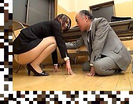 pantyhose,office, asian